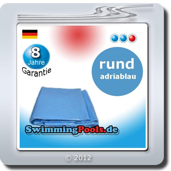 Stahlwandbecken set rund 450 cm x 150 cm swimming pool for Stahlwandpool folie