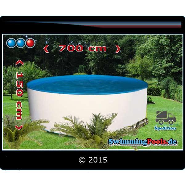 Rundpool 7m Durchmesser X 1 5 M Pool 7 Meter