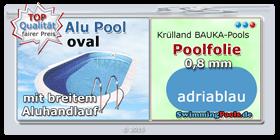 Aluwand pool schwimmbad und saunen for Gartenpool 5m