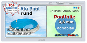 pool mit aluwand oval. Black Bedroom Furniture Sets. Home Design Ideas
