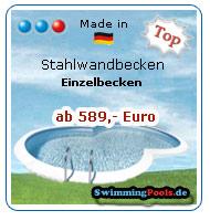 Schwimmbad pool shop schwimmbecken for Schwimmbad stahlwandbecken